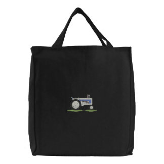 Classic Tractor Embroidered Bags