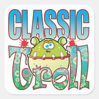 Classic Troll Square Sticker