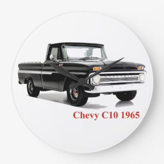Classic Truck image for Round-Large-Wall-Clock Large Clock