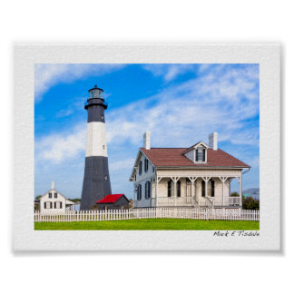 Classic Tybee Island Lighthouse - Mini Posters