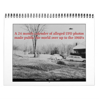 Classic UFOs Wall Calendars