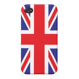 Classic Union Jack British(UK) Flag iPhone 4 Covers