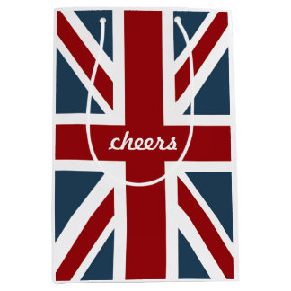 Classic Union Jack Flag Medium Gift Bag