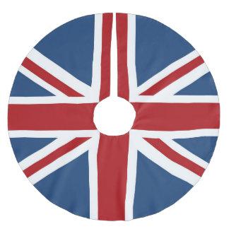 Classic Union Jack UK Flag Brushed Polyester Tree Skirt