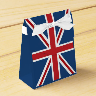 Classic Union Jack UK Flag Favour Box