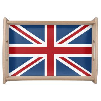 Classic Union Jack UK Flag Serving Tray