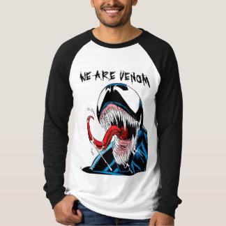 Classic Venom Lashing Tongue Comic Panel T-Shirt