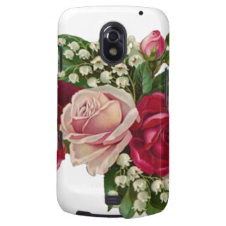 Classic Victorian Roses Lily of the Valley Romance Galaxy Nexus Case