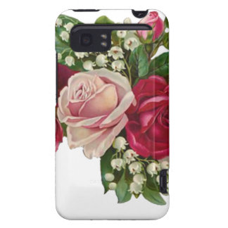 Classic Victorian Roses Lily of the Valley Romance HTC Vivid Case