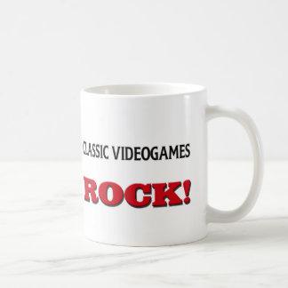 Classic Videogames Rock Mug