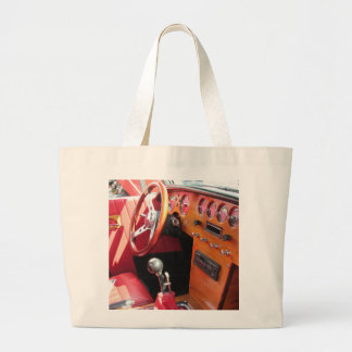 Classic Vintage Car Interior - Tote Bag