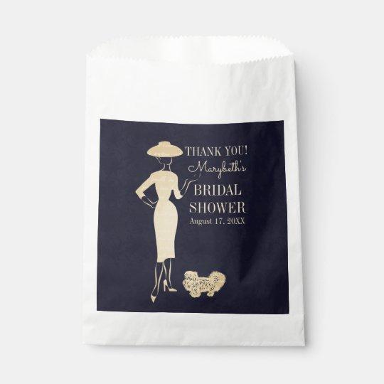 Classic Vintage Fashion Bridal Shower Favour Bags