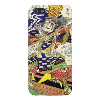Classic Vintage Japanese Samurai Warrior General Case For iPhone 5/5S