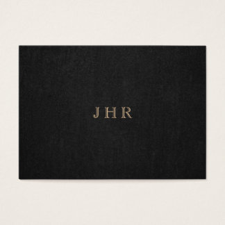 Classic Vintage Monogram Dark Brown Professional