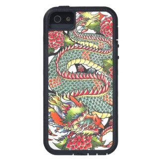 Classic vintage oriental japanese Dragon Tattoo Tough Xtreme iPhone 5 Case