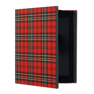 Classic Vintage Red Plaid Covers For iPad
