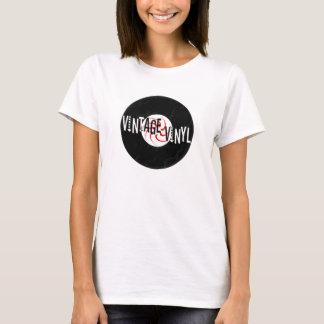 Classic Vinyl Logo - Ladies T-Shirt