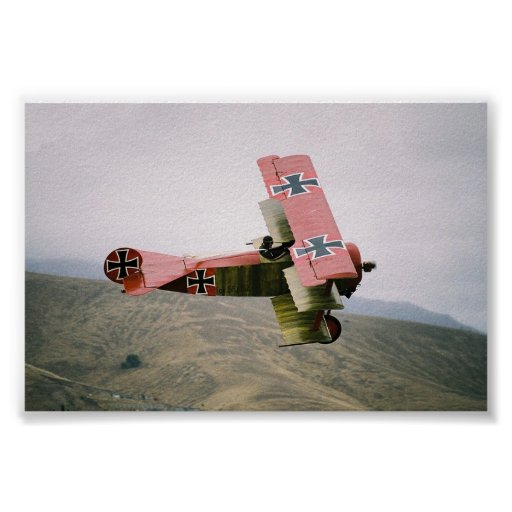 Classic Warbirds: Fokker Dr1 Tri-Plane Posters