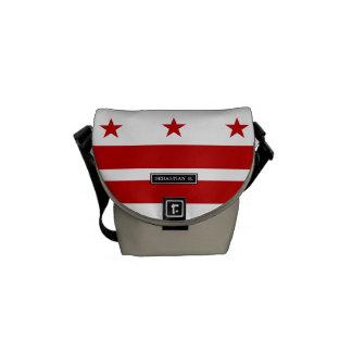 Classic Washington D.C. Flag Messenger Bag