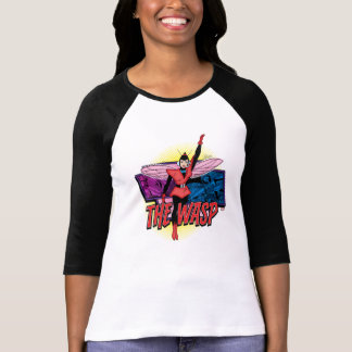 Classic Wasp Comic Panel Graphic T-Shirt