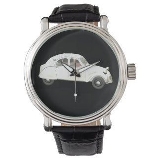 Classic White Citroen 2CV Watch