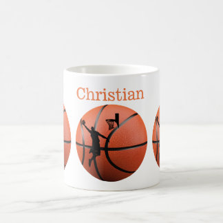 """Classic White cup """"the Player of Basket """""""