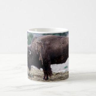 Classic White Mug 11 oz American Buffalo