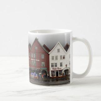 Classic White Mug - Bergen, Norway