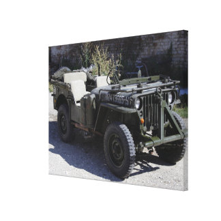 Classic Willys Jeep Canvas Prints