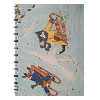Classic Winter Sledging Notebook