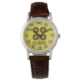 Classic Women's Classic Brown Leather Watch