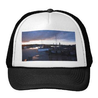 Classic Wooden River Cruiser Trucker Hats