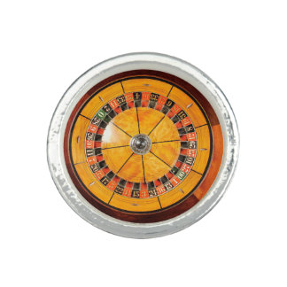 Classic Wooden Roulette Wheel Ring