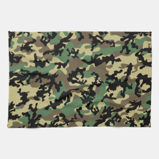 Classic Woodland Camo Kitchen Towels