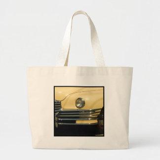 Classic Yellow Car Tote Bags