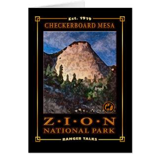 Classic Zion Mesa Card