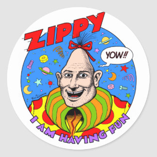 Classic Zippy Sticker