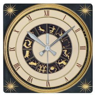 Classic Zodiac clock