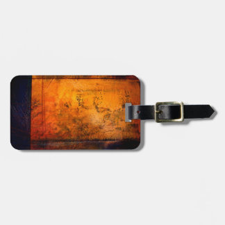 Classical Abstract Artwork Luggage Tag