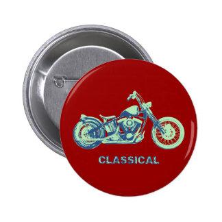 Classical -blu-grn button