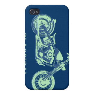 Classical -blu-grn iPhone 4/4S cases