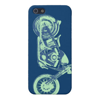 Classical -blu-grn iPhone 5 cover