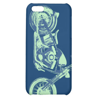 Classical -blu-grn iPhone 5C case