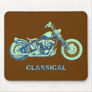 Classical -blu-grn mouse pad