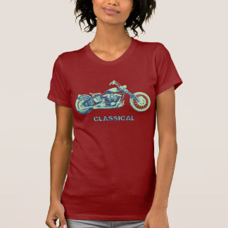 Classical -blu-grn tshirt