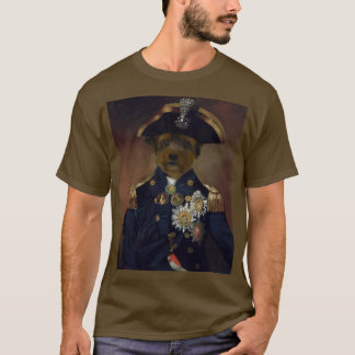 Classical Dog Art Tee Shirt