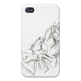 Classical Drawings in the Style of the Old Masters iPhone 4/4S Cover