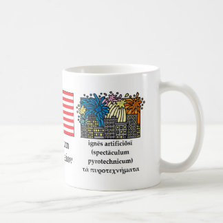 Classical Fourth of July Mug