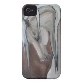 Classical Horse Gray iPhone 4 Covers