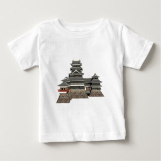 Classical Japanese Castle Baby T-Shirt